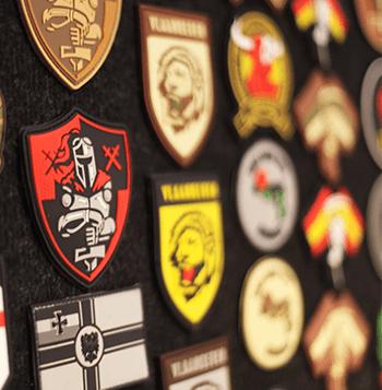 kleding badge